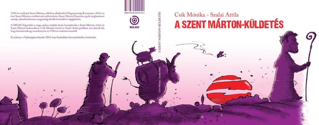 A szent Márton-küldetés Book Cover